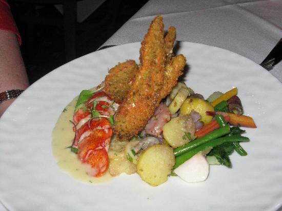 Restaurant Stella: Lobster dish