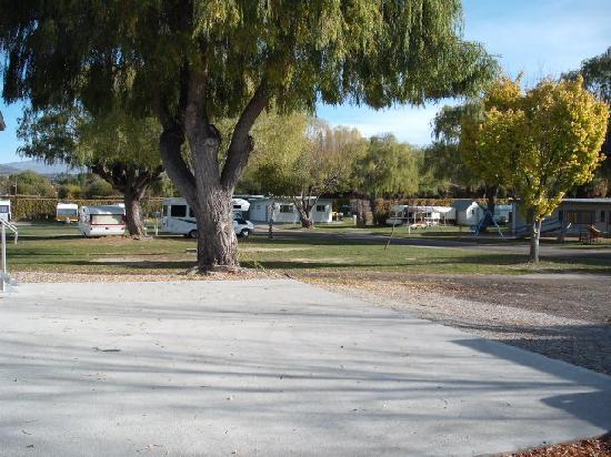 Alexandra Holiday Park: Caravan & Tent Sites