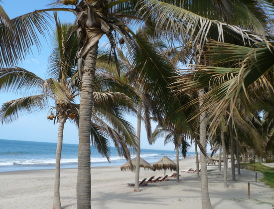 Mancora, Peru: view from the hotel