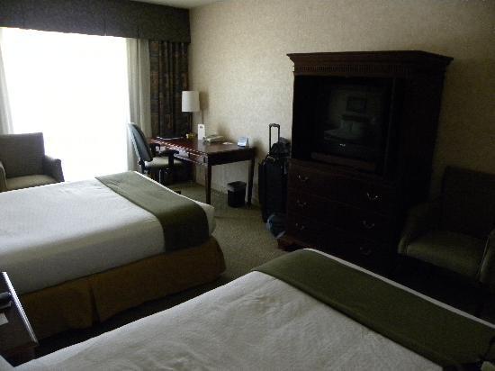 Atrium Inn Vancouver: Double room