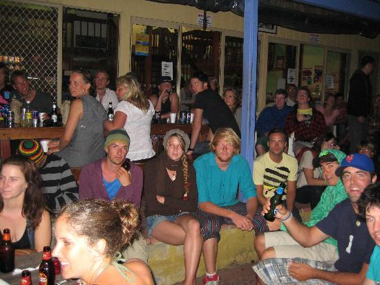 Backpackers Inn on the Beach at Byron Bay: best place to meet people