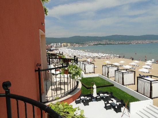 Dune Hotel: balcony view