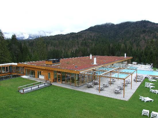 Das Kranzbach: Wellness-Bereich