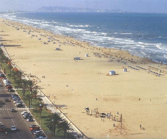 Hotel Tres Anclas: la playa genial