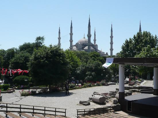 Grand Beyazid Hotel: The Blue Mosque