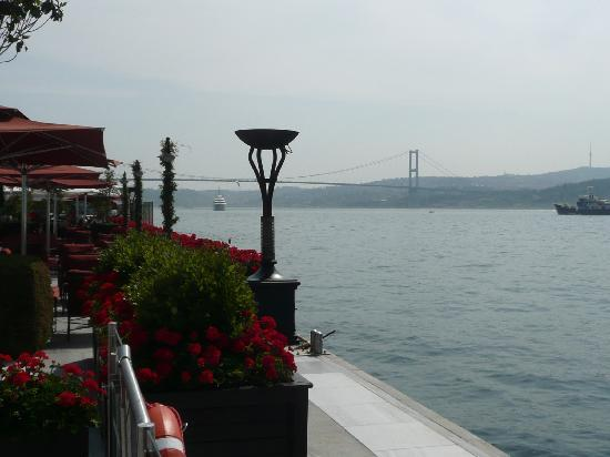 Grand Beyazid Hotel: The Bosphorus From The Four Seasons Hotel Gardens