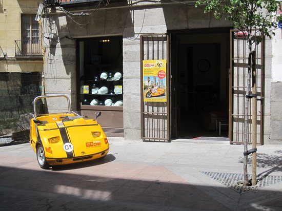 GoCar Tours Madrid: The GoCar Shop in Madrid