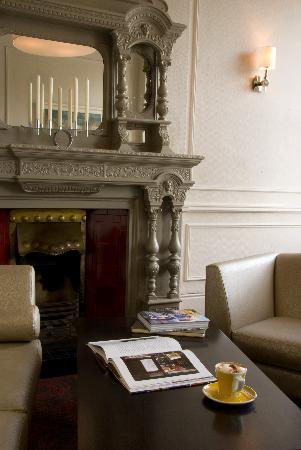 The Grand Hotel Fermoy : The Fireplace in the lobby