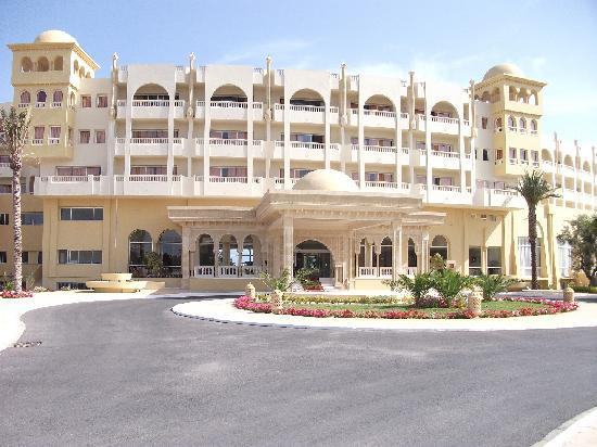 Hotel Palace Hammamet Marhaba: Front Entrance