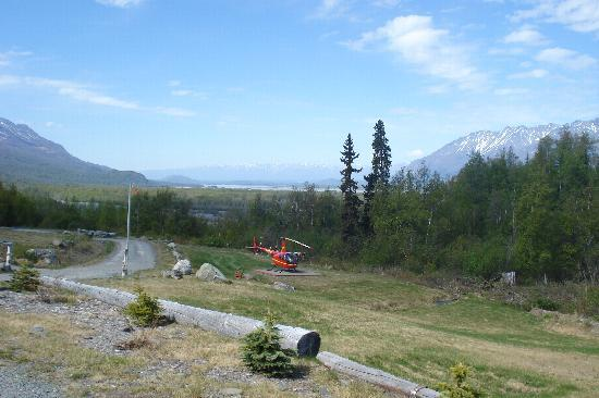 Knik River Lodge: Helikopter