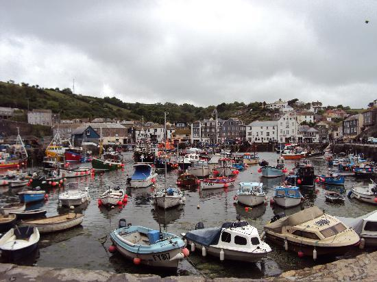 Great Pelean Farm: The harbour Mevagissey