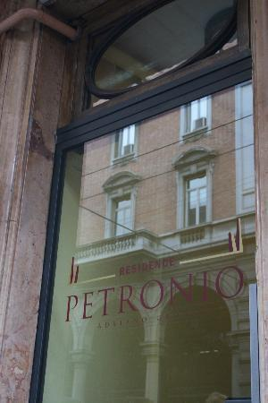 Residence Petronio : Ingresso