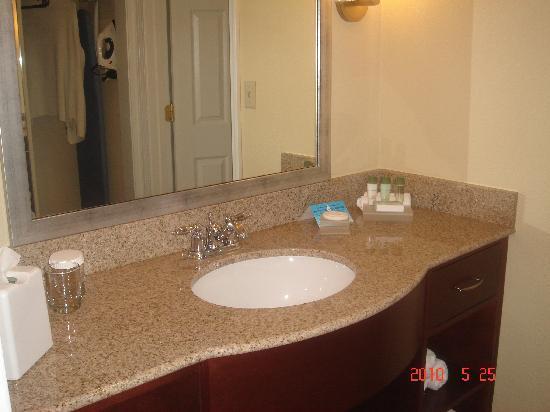 Homewood Suites by Hilton Charlotte-North/University Research Park: Bathroom