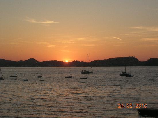 Hotel Mare: ..il tramonto visto dalla nostra camera