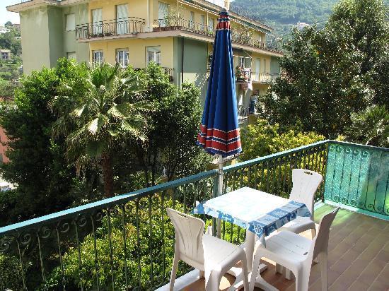 Hotel Villa Anita: Our balcony