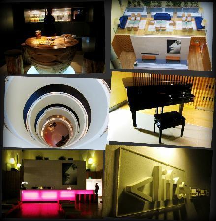 Andaz London Liverpool Street : interior of Andaz hotel