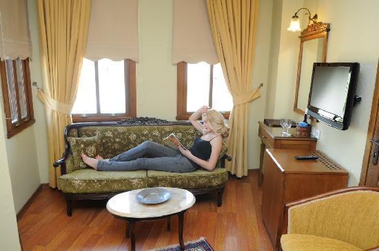Yusuf Pasa Konagi Special Class: Sofa in 202 Standard Room