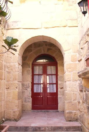 Bellavista Farmhouses Gozo: Front door of Ta' Andrea