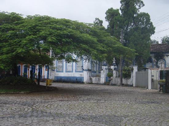 Morretes, PR: Street near river