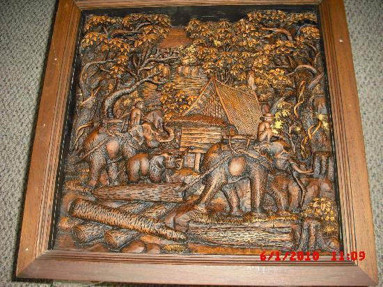 Royal Thai handicraft center: Coffee Table top