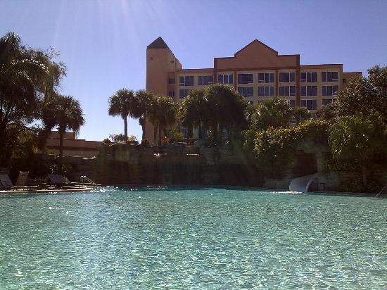 Radisson Resort Orlando-Celebration: one of the pools