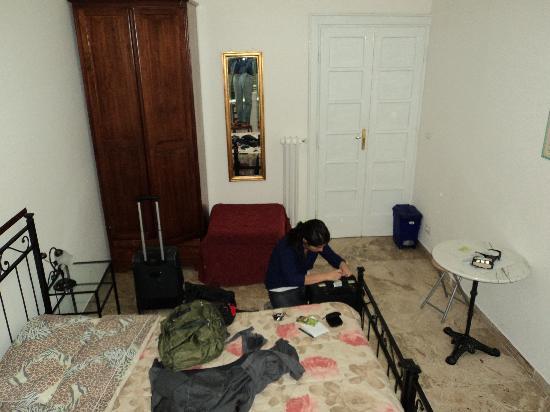 Lucky House: habitación