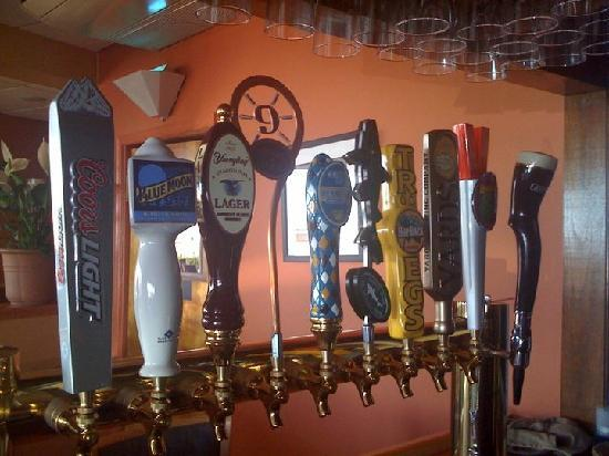 Harry's Ocean Bar & Grille: They have something like 40 different beer choices