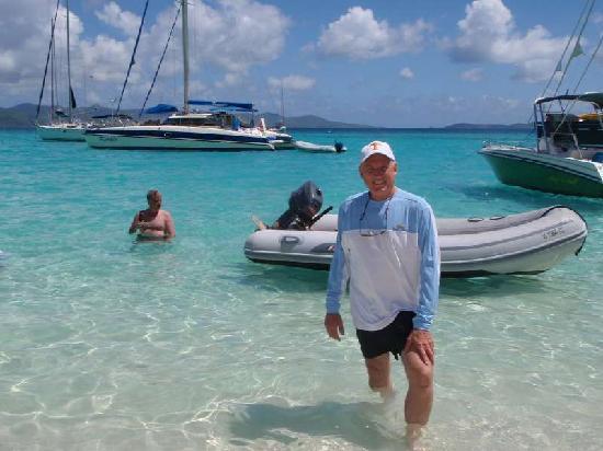 The Westin St. John Resort Villas: Rent a dinghy!