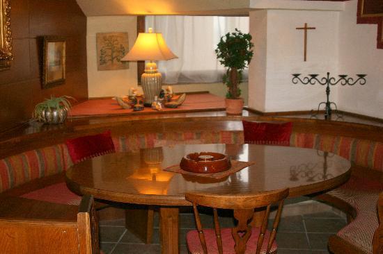 Hotel Alpenkrone: Cosy corner