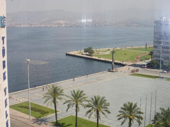 Movenpick Hotel Izmir: the view from room 805