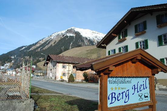 Wohlfühlhotel Berg Heil: Aussicht