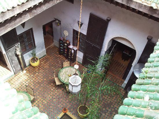 Riad Menthe et Citron: la terrasse du riad