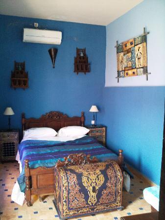 Riad Menthe et Citron: une chambre du riad