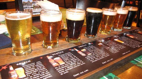 B&B Plaza Italia: Beers from Antares