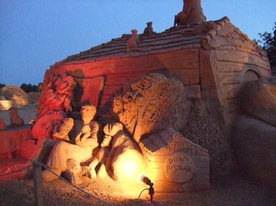 Rocamar Exclusive Hotel & Spa: Fiesa sand sculpture festival