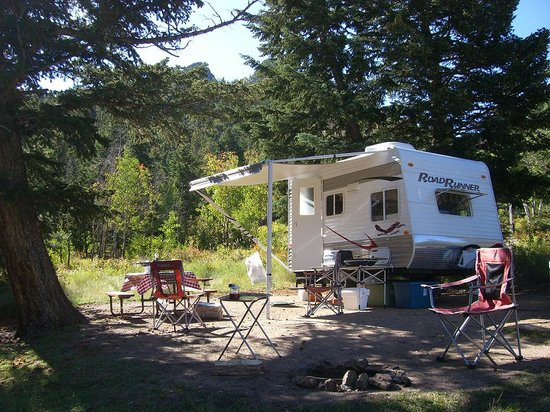 Estes Park Campground at East Portal: Rugged campsite