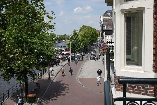 View From Balcony Picture Of The Bridge Hotel Amsterdam