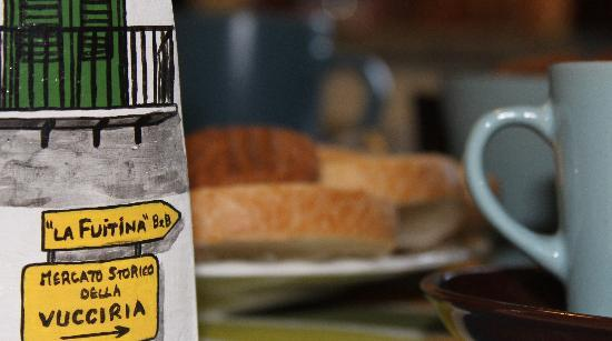 La Fuitina : breakfast