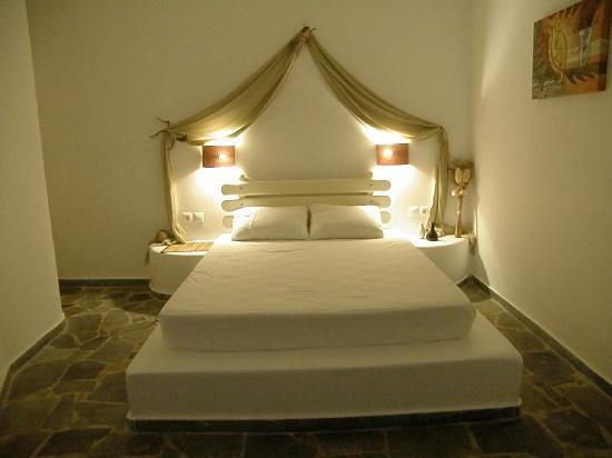 Psaravolada Resort: Bedroom section