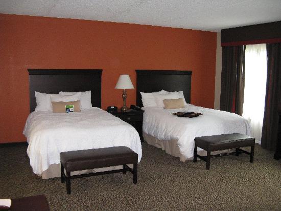Hampton Inn Spring Lake-Ft. Bragg: Our room 424