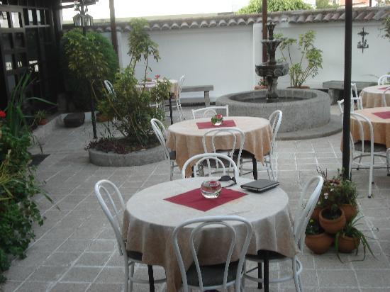 Fuente de Piedra 1: The courtyard