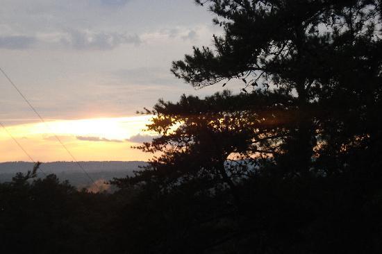 Leesburg, AL: Sun set