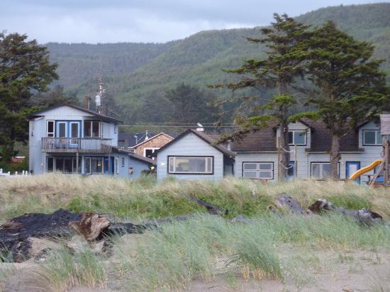 Rockaway Beach, OR: View from the Beach