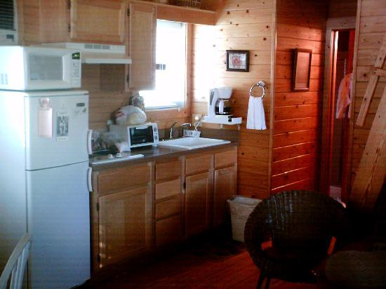Cabins On Laurel Creek: A clean kitchen for cooking