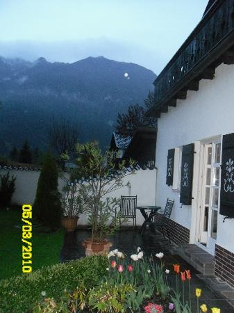 Hotel Edelweiss : our room with a view