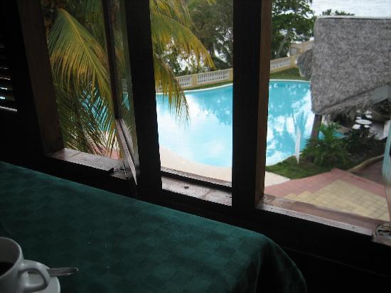 Baracoa, Kuba: Blick vom Frühstückssaal