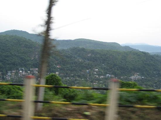 Gauhati, India: Green Hills