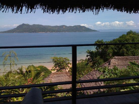 Tsara Komba Luxury Beach Forest Lodge: Vue de notre lodge