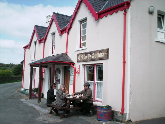 Lauragh, Ireland: colazione