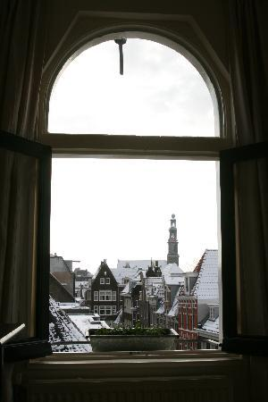 Eelhouse B&B: View from topfloor in the winter